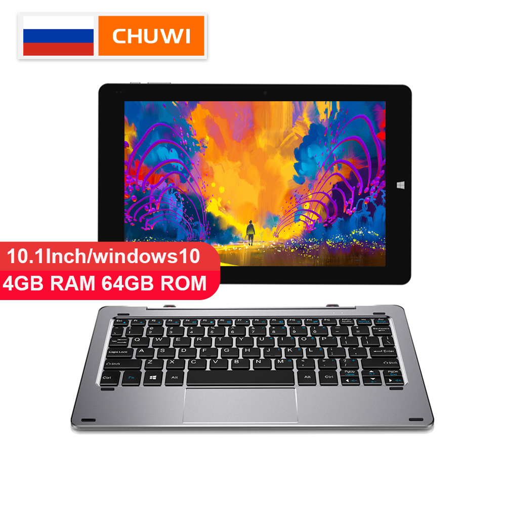 CHUWI Original Hi10 Air 10.1 pouces tablette PC Windows10 Intel Cherry Trail-T3 Z8350 Quad Core 4 GB RAM 64 GB ROM type-c 2 en 1 tablette