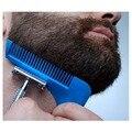 Barba Bro Recortar Plantilla Shaping Styling Hombre Barba Barba Caballero de Cortar El Pelo corte de pelo clipper Pelo de la barba de moldeo modelado