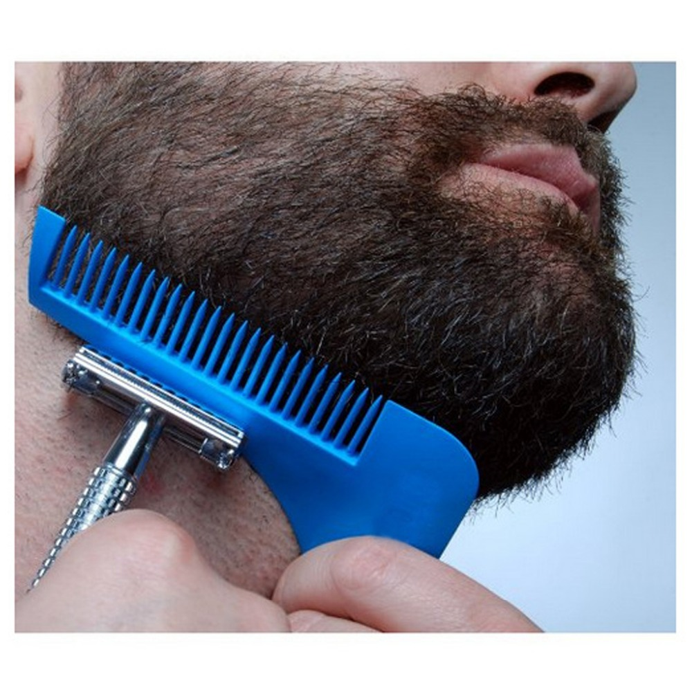 Beard Bro Hair Trimmers Beard Shaping Styling Man Gentleman Beard Trim Template hair cut molding Hair clipper beard modelling