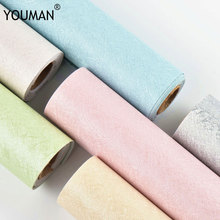 цена Wallpapers YOUMAN Silk Self-adhesive Wallpaper PVC Vinyl Self Adhesive Film Kids Room Bedroom Stickers Peel Stick Wall Papers онлайн в 2017 году