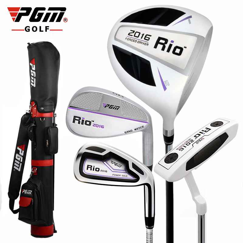 PGM Quality Golf Set Clubs Driver # 1 Wood #7 Iron Super Value Practice Beginner Rod Woman Fund Putter Women Sand Wedge ...