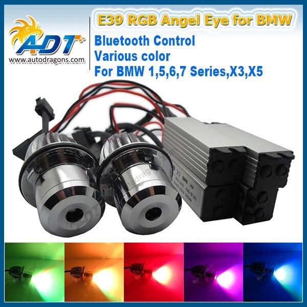 20W Canbus LED Cr RGB Car Angel Eye by Blue tooth wireless Auto Led for BMW E87/E39 M5/E60 M5/E61/E63/E64/E65/E66/E83 X3 X5 eye m by ileana makri ожерелье