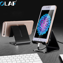 Universal Aluminum Metal Phone Stand Holder For iphone SE 6S 7 8 X For Samsung Note 8 Tablet Desk Holder Stand for Smart Watch