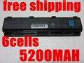 5200 MAH 6 CELDAS de batería portátil forSatellite C805 C805D C840 C840D C845 C845D C850 C850D C855 C855D C870 C870D C875 C875D PA5024