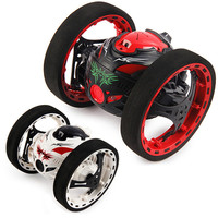 Upgrade Version Mini Bounce Car SJ88 2 4GHz RC Bounce Car Shock Resistance Flexible Wheels Speed