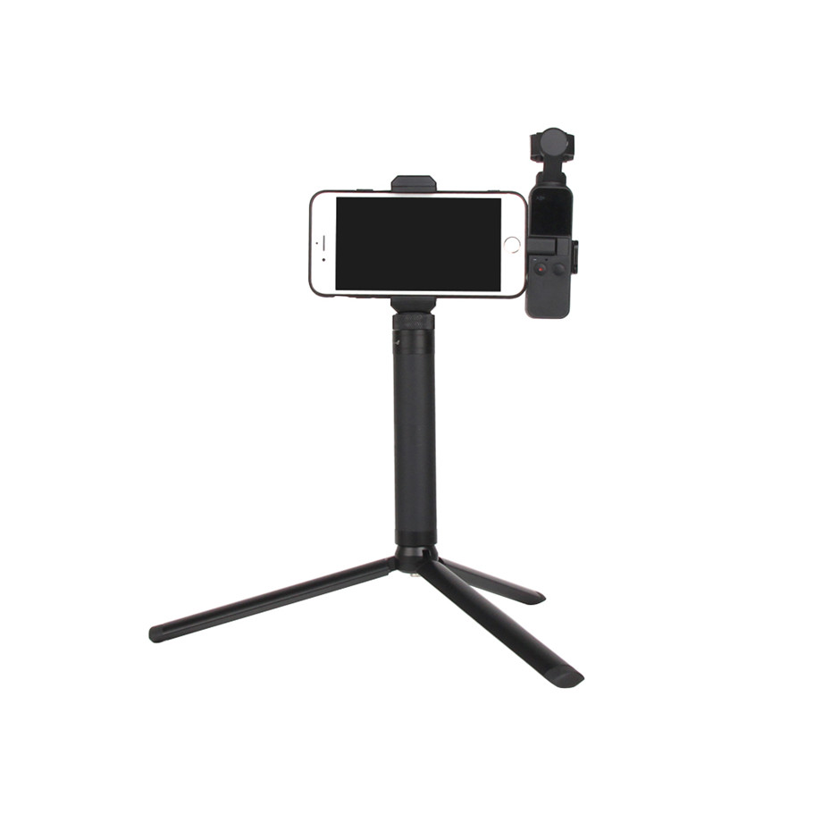 OSMO Pocket Smartphone Fixing Bracket Stand Clamp Extending Rod Tripod for DJI OSMO POCKET Gimbal Accessories 18