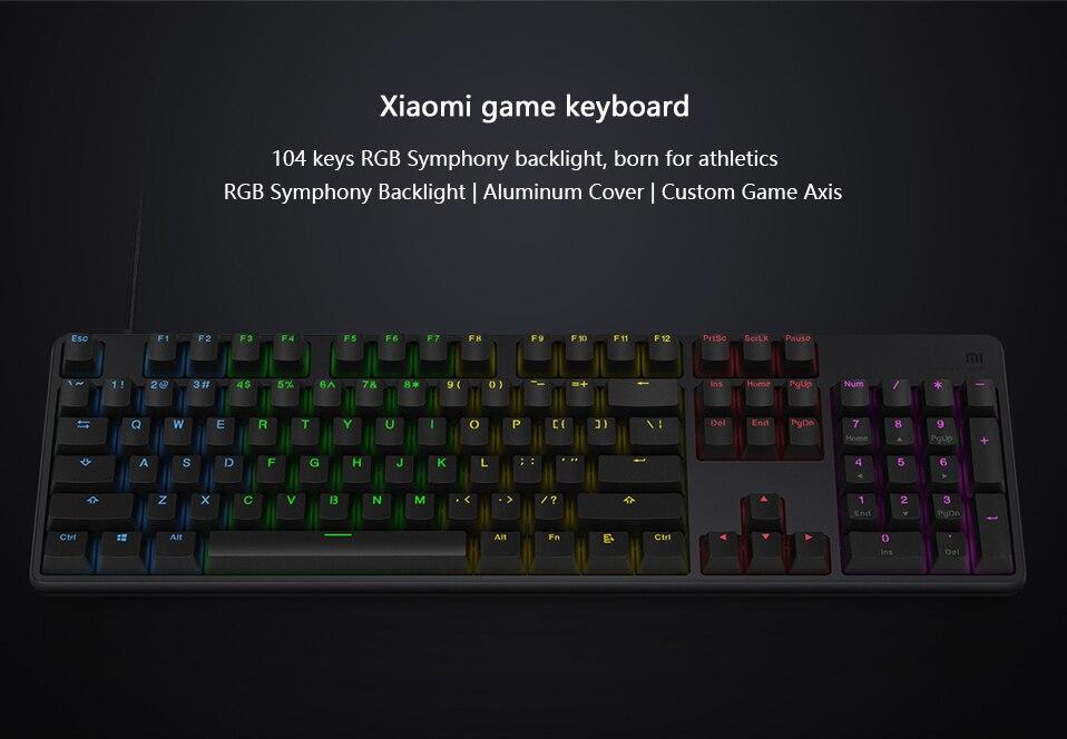 Xiaomi Gaming Keyboard Swadeal