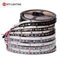 WS2811 5050 SMD RGB Strip Addressable 30/48/60leds/m Led Pixels External 1 ic control 3 Leds Normal/Bright 5m/roll 16.5ft  DC12V