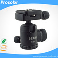 "High quality Aluminum Tripod Ball Head camera accessories for tripod with Quick Release Plate 1/4"" Screw"