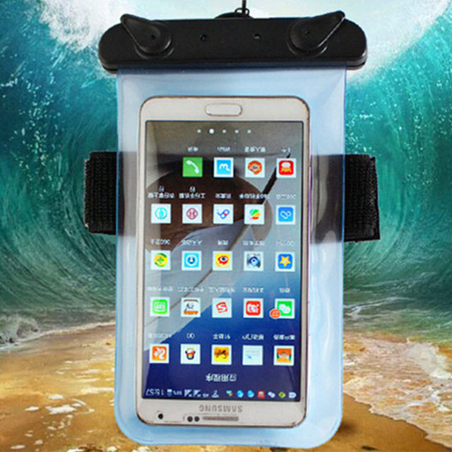 Universal Waterproof Mobile Phone Bags With Strap Dry Pouch Cases Cover For Xiaomi Hongmi Red Rice