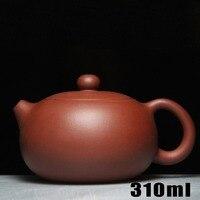 Promotion! Yixing Teapot 310ml Bouns 3 Cups Ceramic Cup Chinese Handmade Tea Pot Kung Fu Set Purple Clay Zisha Porcelain Kettle