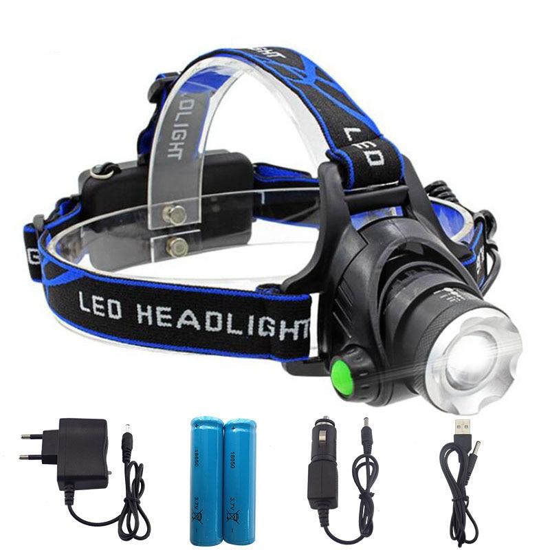 Good 5000LM XML T6 LED Head Torch Headlamp Headlight 18650 Battery OSN