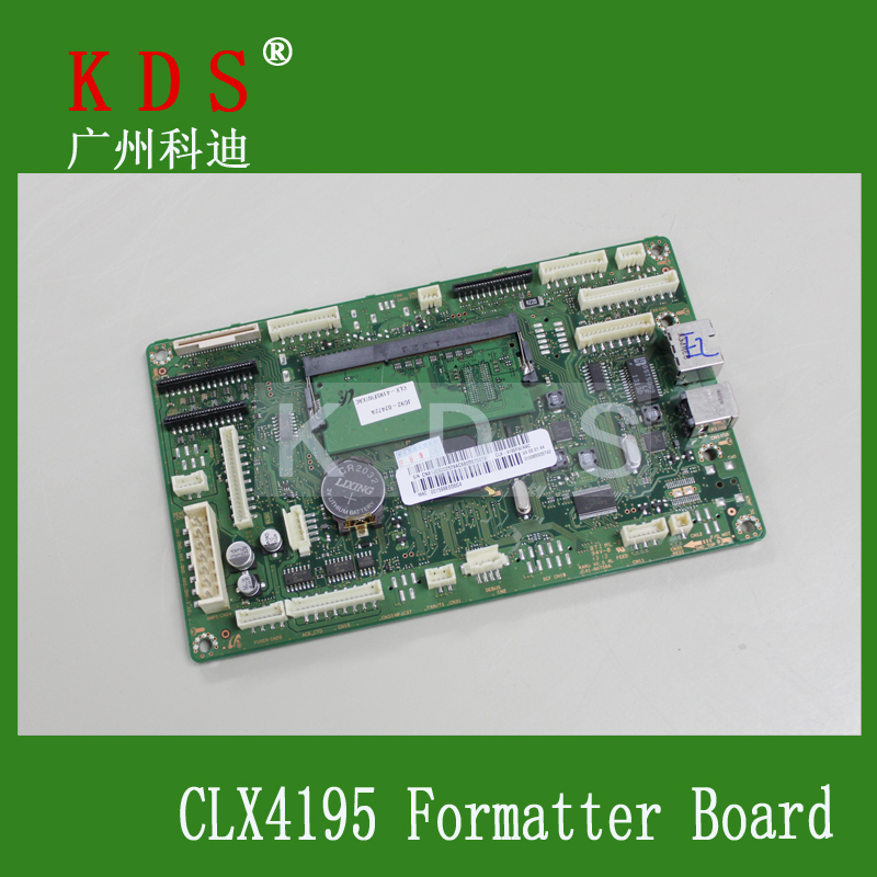 ФОТО CLP-4195FW Formatter Board for Samsung Printer Spare Parts Free Shipping