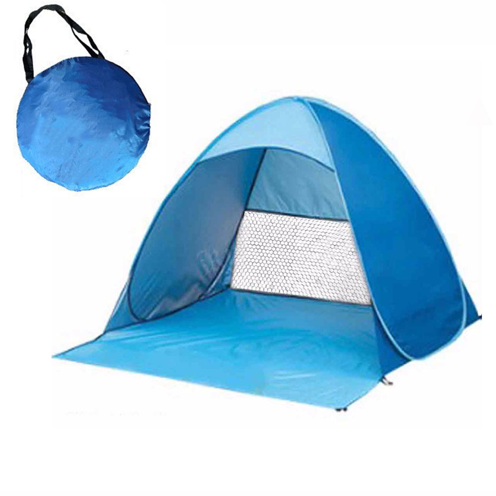 Sun Beach tent 1 - 2 person outdoor automatic quick open camping hiking tent fishing tents UV protection shade ShelterSun Beach tent 1 - 2 person outdoor automatic quick open camping hiking tent fishing tents UV protection shade Shelter