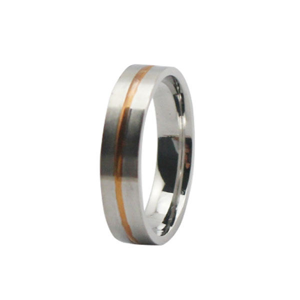 fashion cheap 316l stainless steel rose gold plate - Cheap Wedding Rings Online