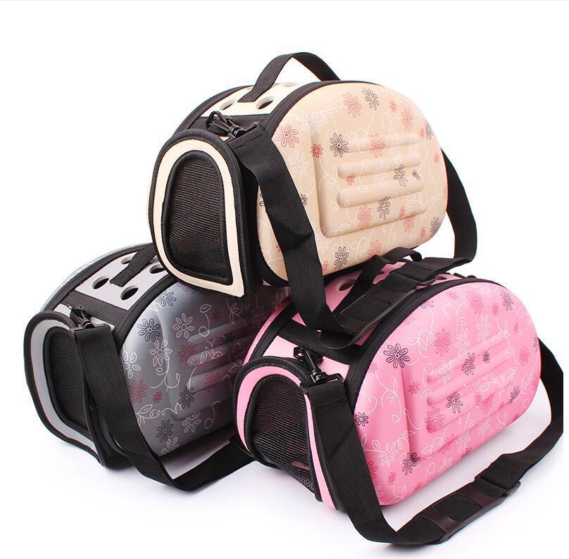 Mode créative belle animal de compagnie chien transporteur sac à dos grand espace pliable confortable respirant extérieur voyage animal de compagnie épaule