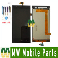 High Quality Black Color For Highscreen Boost 3 LCD Display Touch Screen Digitizer Assembly 1PC Lot