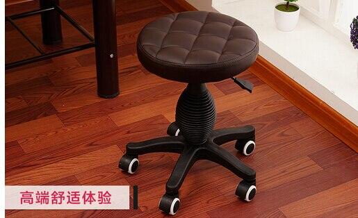 Bellezza sgabello. grande banco di lavoro. la sedia parrucchiere