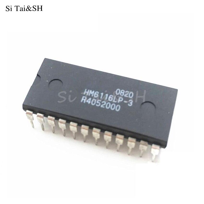 10pcs HM6116ALP-3 IC HM6116 DIP-24 new