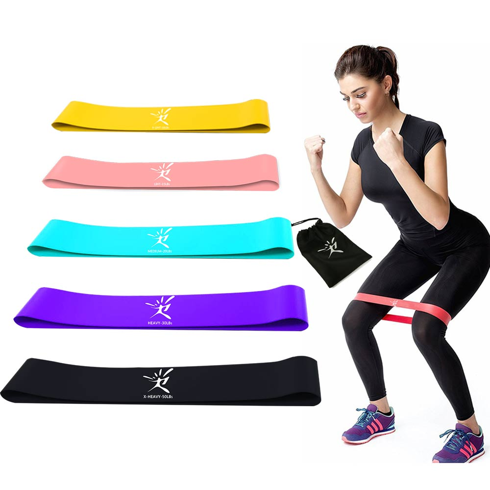 Resistance Bands Elastic Band for Fitness Rubber Bands for Fitness Pull Rope Loop Gym Yoga Workout Expander CrossFit Equipment the military version military regulations suspended fitness training pull rope fitness band txr