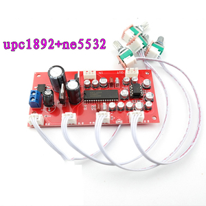 Image 1 - UPC1892CT プリアンプトーンボードプリアンプ NE5532Tone 制御ポテンショメータ分離デュアル DC 12 v 24 V