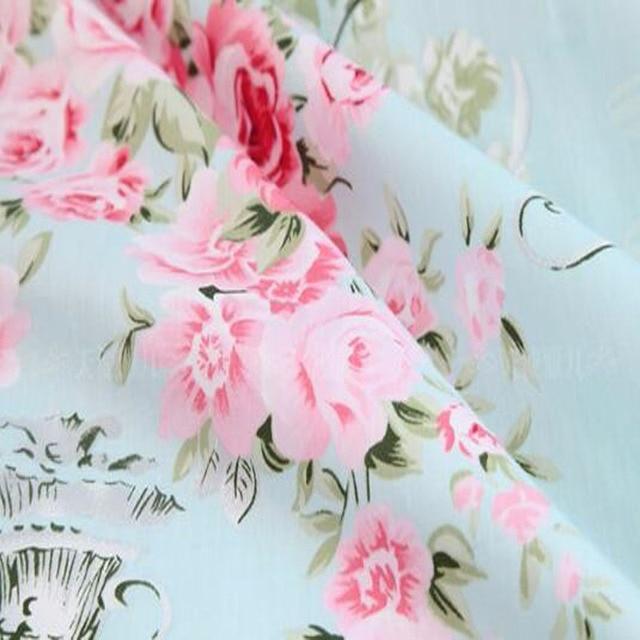 Magnifique Rose édredon de 50x160cm   Tissu 100% coton, literie pour bébé, bleu, tissu en tissu Tilda
