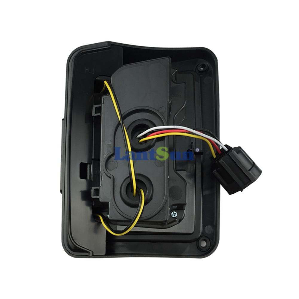 Одна пара J011 чорний димчастий лінз - Автомобільні фари - фото 3