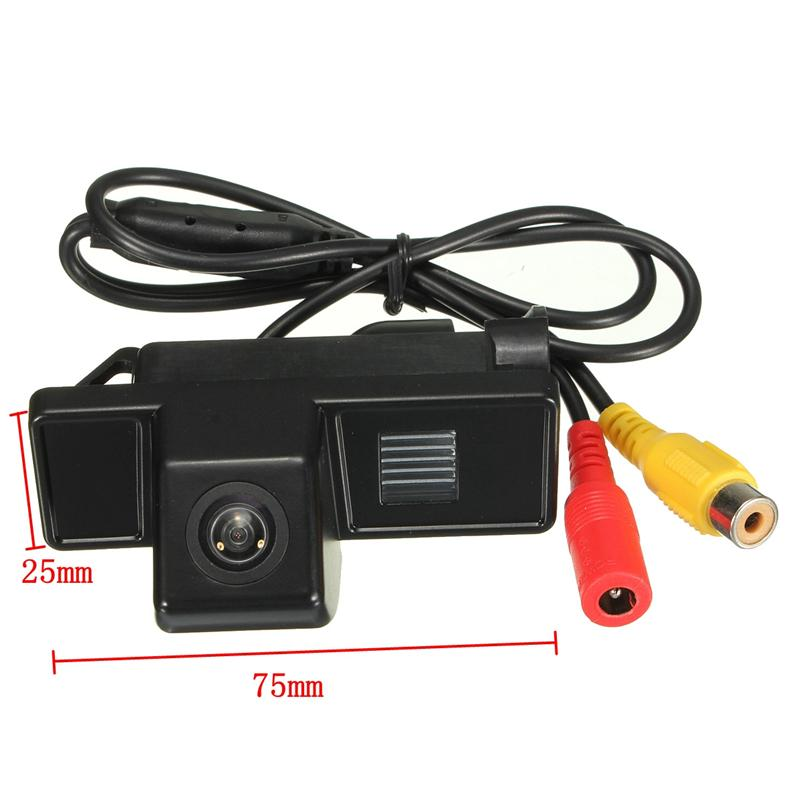 HD CCD Car Rear View Camera Reversa backup estacionamento Camera Para Mercedes Benz Classe B W639 Vito Viano Sprinter MB