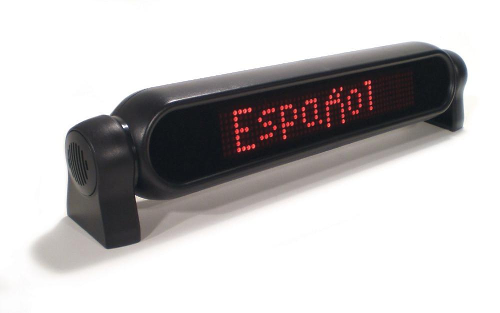 vehicle led sign