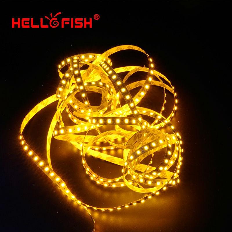 Hello Fish 5M 2835 600 SMD LED sloksne 12V elastīga120 LED gaismas - LED Apgaismojums - Foto 5