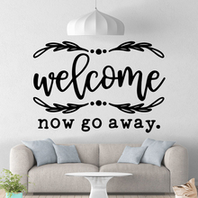 Cartoon welcome Wall Sticker Removable Wall Stickers Diy Wallpaper For Home Decor Living Room Bedroom Wall Stickers Waterproof цена и фото