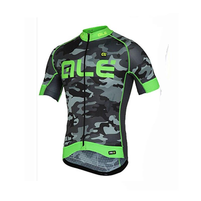 Prix pour Sport ALE Fluoresce Chine Équipe vtt Vélo Vélo Vêtements Vêtements Vélo Jersey Shirt Ropa Bici Ciclismo Bicicleta Maillot