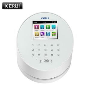 Image 1 - KERUI W2  Wifi GSM Wireless alarm Panel IOS andorid APP PSTN line telephone RFID Disalarm Security Alarm