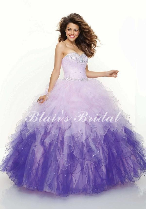 Popular Purple Puffy Prom Dresses-Buy Cheap Purple Puffy Prom ...