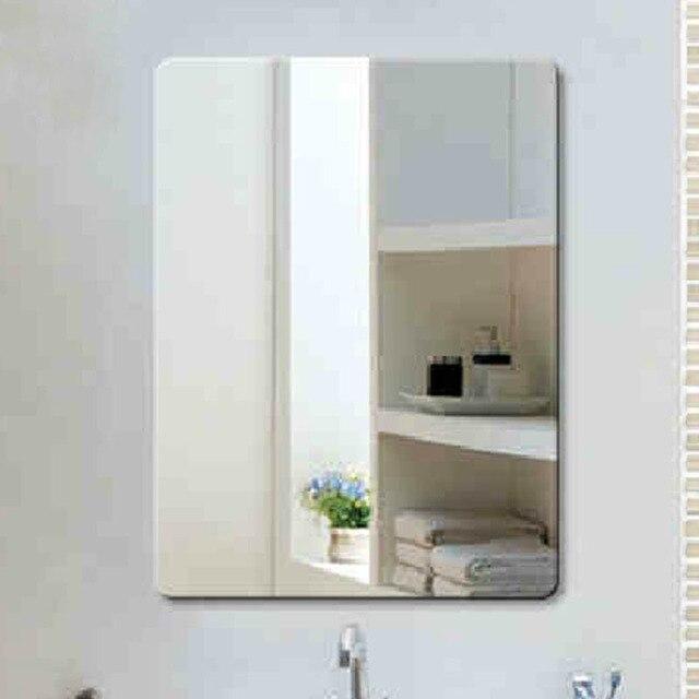 bao moda vidrio ultra claro espejo cuadrados espejo de pared espejo del bao