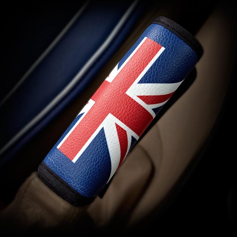 English Style Super Fibre Leather Car Hand Brake Cover Truck Parts Auto Decoration Car Handbrake Sleeve
