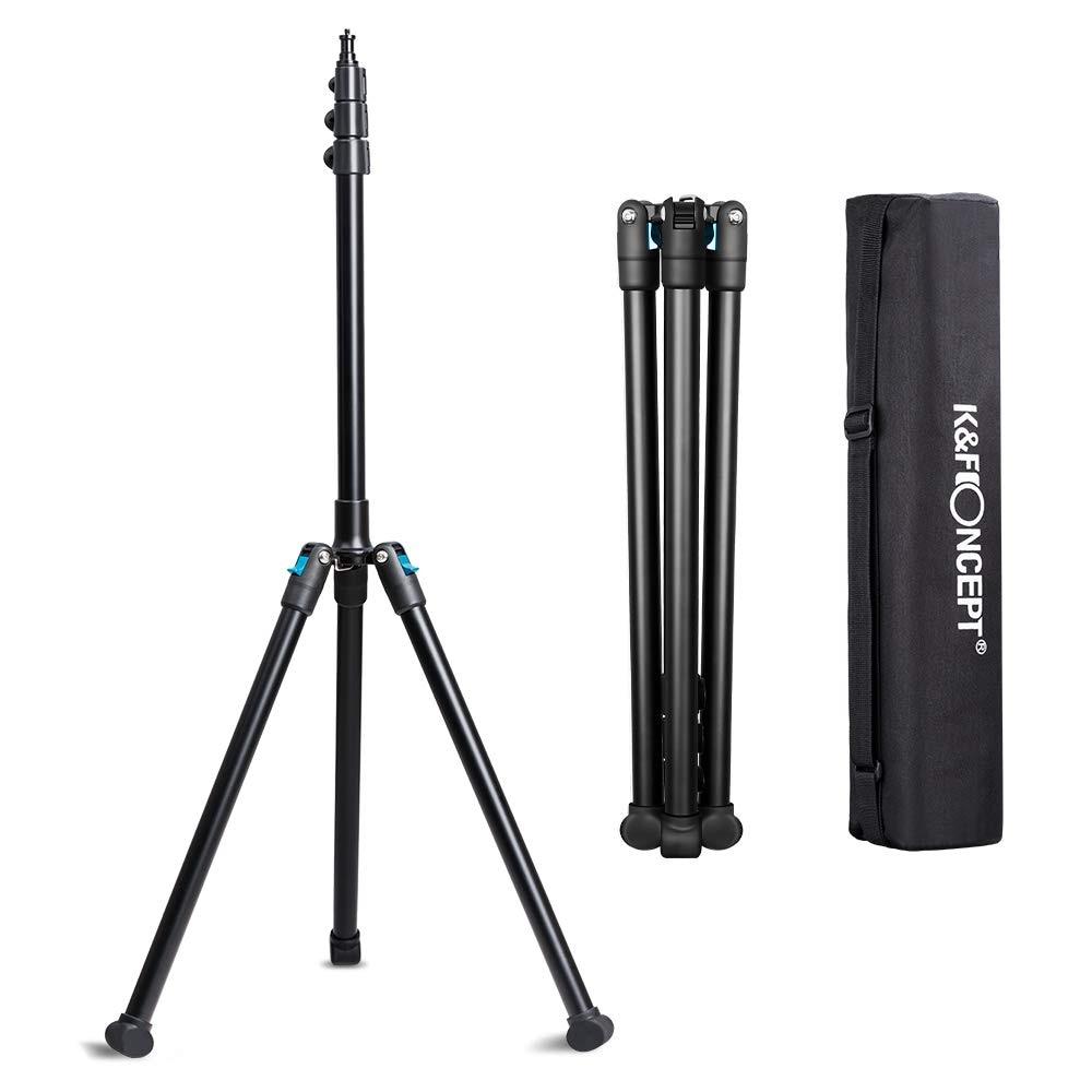 K F Concept 78 75 Aluminium Photography Video Tripod Light Stand for Relfectors Softboxes Lights Umbrellas