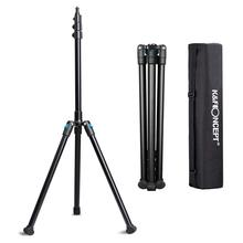 K&F Concept 78.75 Aluminium Photography/Video Tripod Light Stand for Relfectors Softboxes Lights Umbrellas Backgrounds