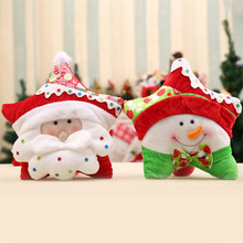 40*40CM Christmas Decoration Cartoon Pillow Toys For Baby Children Room Decorative Pillows Beautiful Christmas Gift   JJ044