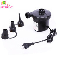 HEY FUNNY 220v 150w Electric Balloon Inflator Pump Inflatable Electric Balloon Pump Household Portable Air Blower