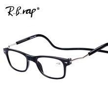 2018 Dobrável Magnética óculos de leitura Leitor de Óculos das mulheres dos  homens dobráveis quadro UV400 óculos de Proteção Ant.. 36f038f7f6