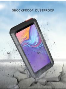 Image 3 - Per Samsung Galaxy A9 2018 custodia LOVE MEI antiurto resistente allacqua custodia protettiva in metallo per Samsung Galaxy A9s