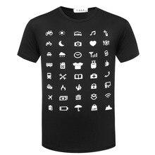 Путешественник Майка Топы Тис Значок Говорят Супер Рубашки Полезно Значок Питания Одежда Shlter Расходов Путешествия TX92 IconSpeak