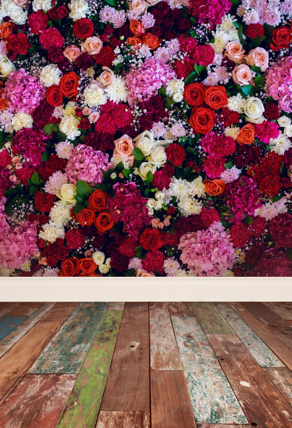 Kate Happy Mothers Day Photography Backdrops Colorful Flowers Photo ...