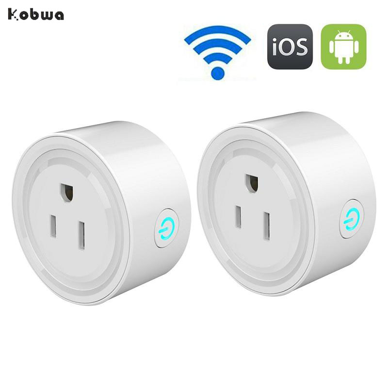 Home Automation Light Control: Wifi Smart Socket US Plug Remote Control For Alexa Smart