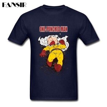 Plus Size Anime One Punch Man Anime Dragon Ball Krillin Plain Tshirt Man Short Sleeve O Neck Men T Shirt Team Clothing