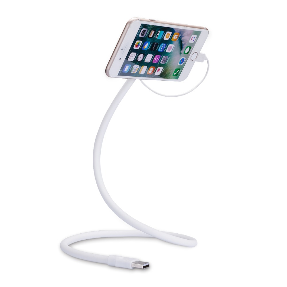 Car Mobile Phone Microusb Charger Stand Bracket Flexible ...