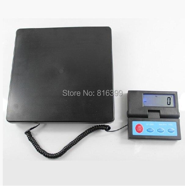 Livraison gratuite 50 kg 2g electronic plate forme échelles de colis à l'échelle de haute précision electronic échelles échelle express dans Salle de bains Échelles de Maison & Jardin