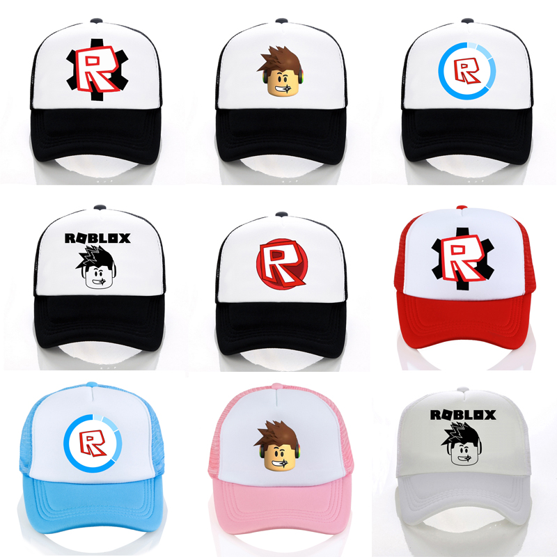 Hot Roblox hat Games Rock Band   Baseball     caps   cool Cosplay   cap   Unisex game roblox Figure Pointy Summer mesh Snapback Hats