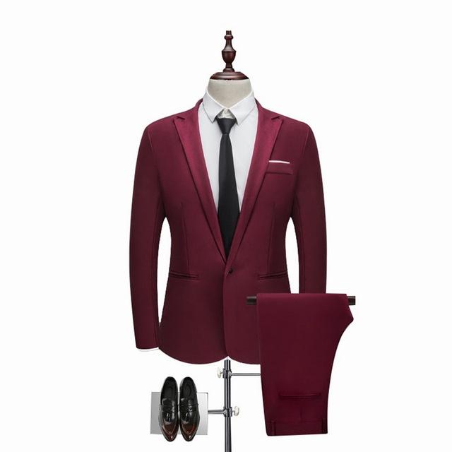 Men's Elegant Formal Suit